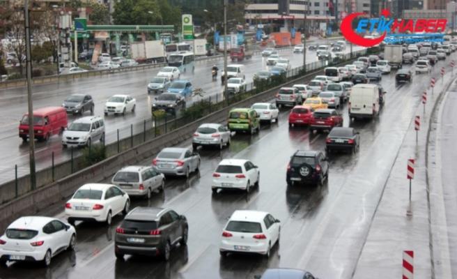 İstanbul'da bahar yağmuru