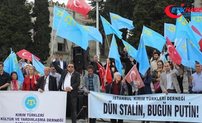 Kırım Tatar Türkleri sürgününde hayatını kaybedenler İstanbul'da anıldı