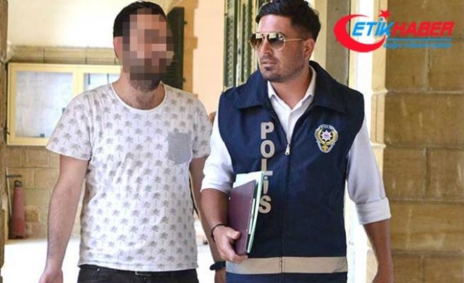 KKTC'de kumar parası bulamayan eşini darp eden adam tutuklandı