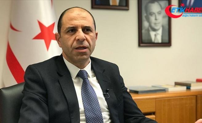 KKTC Dışişleri Bakanı Özersay'dan AB'ye: Artık kımıldayın