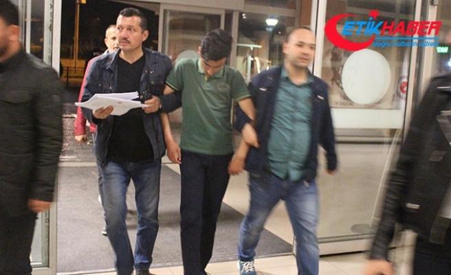 Kooperatif başkanı şoförü öldüren liseli tutuklandı