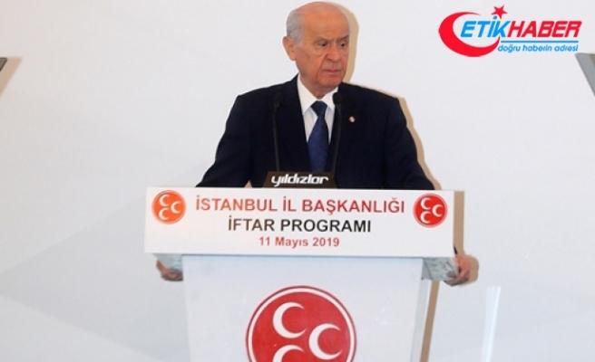 MHP Lideri Bahçeli: Be hey alçaklar, ihanetin nesi güzeldir, kötülüğün neresi güzel olacaktır?