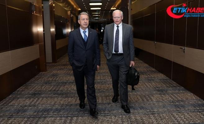 Milli Savunma Bakanı Akar: Görüşlerimize yaklaştıklarını görmekten mutlu oldum