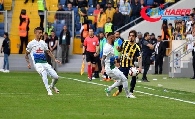 MKE Ankaragücü - Çaykur Rizespor: 2-2