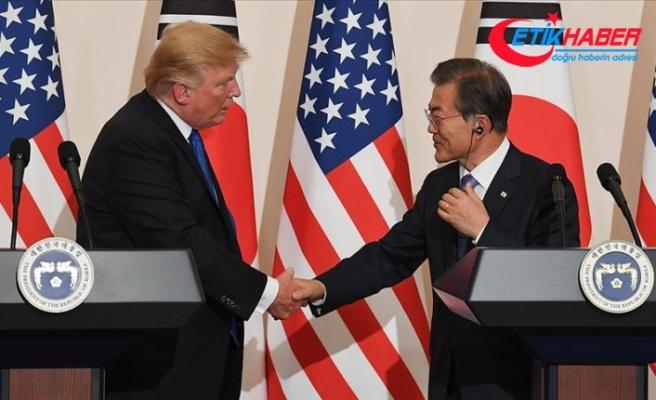 Moon'dan Kuzey Kore'ye karşı ABD ile ortak hareket vurgusu