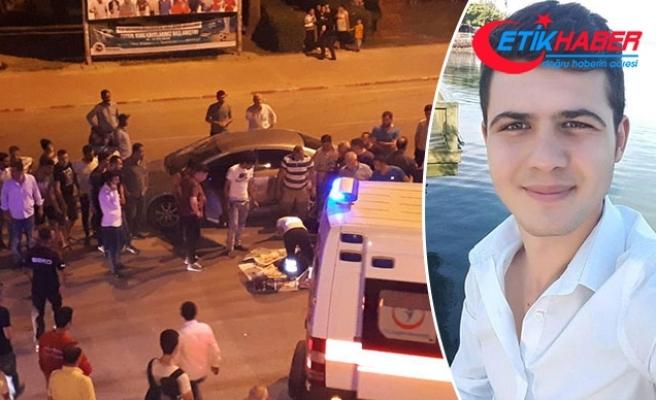 Otomobil ile çarpışan motositletin sürücüsü, öldü