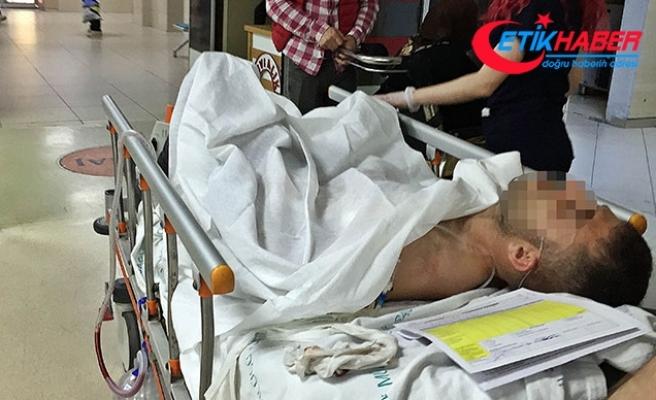 Oyun salonunda makaslı kavgada tesisatçı ağır yaralandı