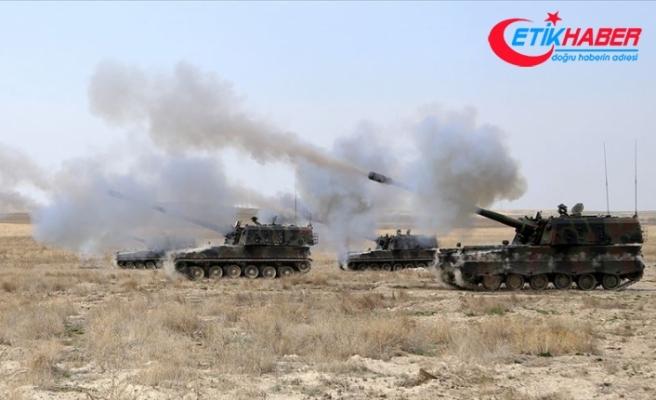 PKK/YPG'li teröristlerin taciz ateşlerine anında karşılık verildi