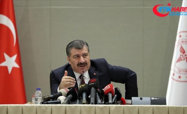 Sağlık Bakanı Fahrettin Koca: Suriye krizi küresel siyaset ve insanlık adına bir test olmuştur