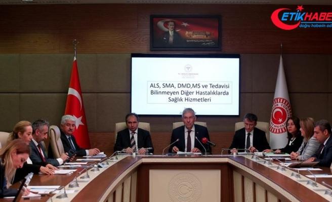 'SMA hastalarının ilaçlarını ödeme konusunda Türkiye öncü durumda'