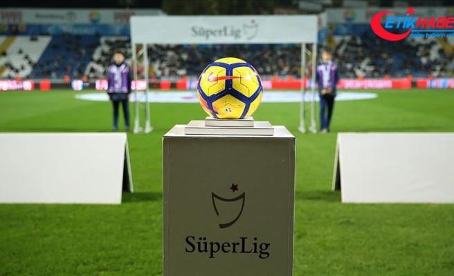 Süper Lig'de iki haftalık maç programı açıklandı