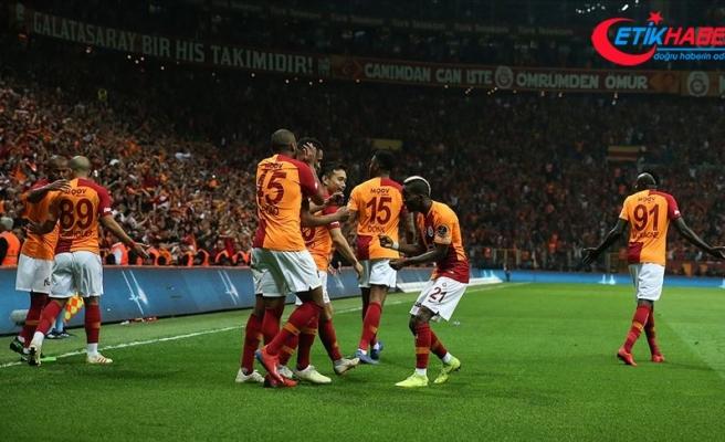 Süper Lig'in yeni lideri Galatasaray