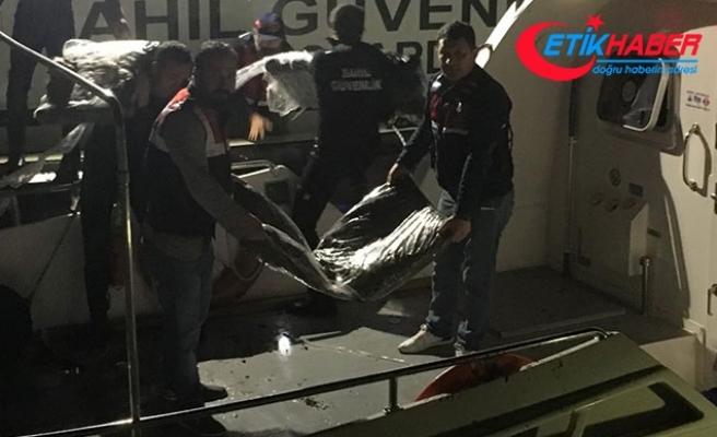 Tekne battı, 1 ton 126 kilo uyuşturucu denize dağıldı
