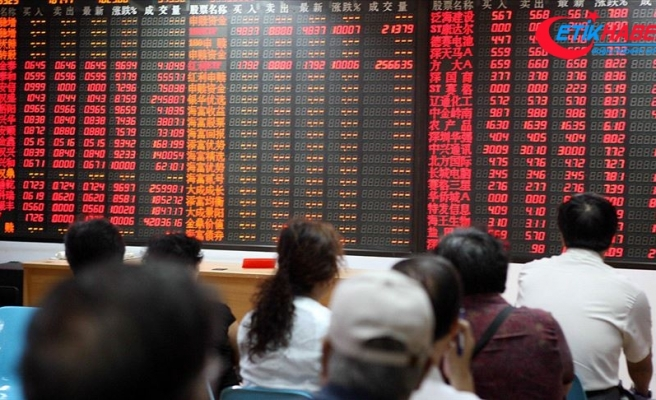 Ticaret savaşı Çin borsasını durduramadı