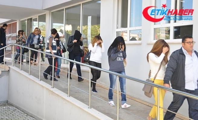 Trabzon'da fuhuş operasyonu: 15 gözaltı
