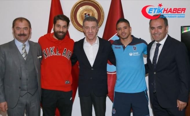 Trabzonspor'da Olcay Şahan ve Ibanez'e veda töreni yapıldı