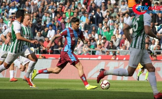 Trabzonspor Konya'da 2 puan bıraktı