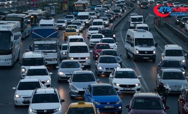 Trafiğe üç ayda 159 bin 219 aracın kaydı yapıldı