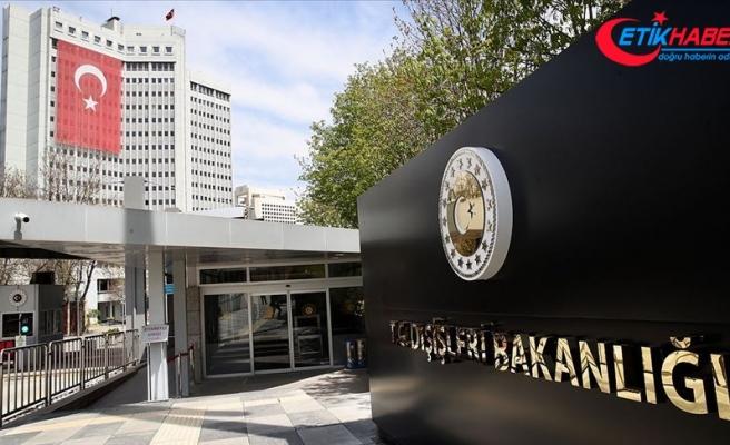Türkiye'den Kerkük'teki saldırılar için başsağlığı mesajı