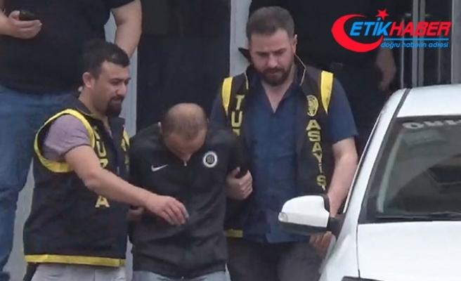 Tuzla'da erik çekirdeği atan çocuğu döven kişi adliyeye sevk edildi
