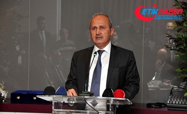 Ulaştırma Bakanı Turhan: Halkalı-İstanbul Havalimanı raylı sistem altyapısını kuruyoruz