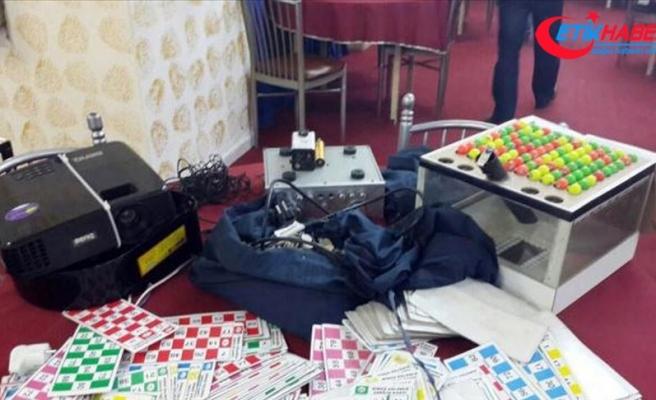 Ülke genelinde 'kumar' operasyonu