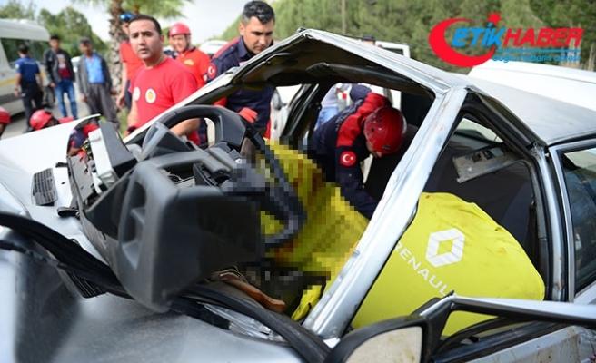 Yaralı sürücü, sürekli arkadaşlarını sordu