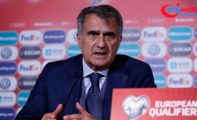 A Milli Futbol Takımı Teknik Direktörü Güneş: EURO 2020'ye katılacağımızı söyleyebiliriz