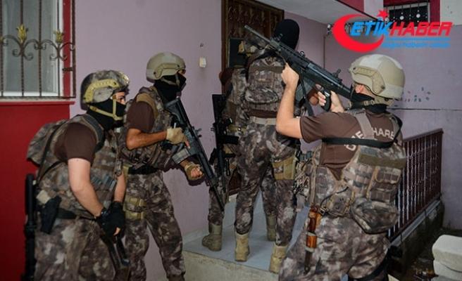 Adana'da uyuşturucu operasyonu: 58 gözaltı kararı