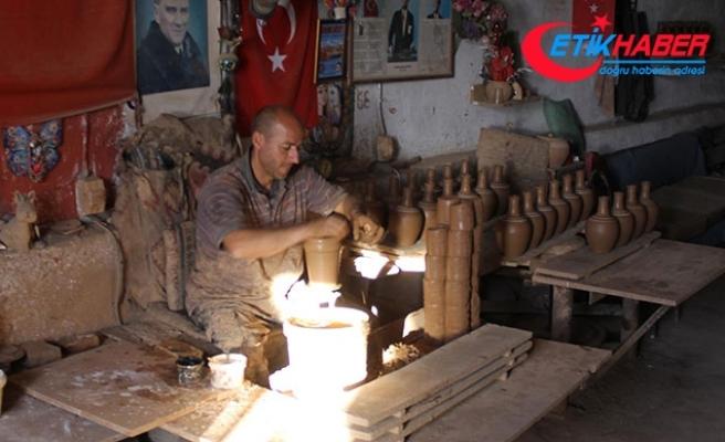Avanos'ta üretilen çömlekler, yurt dışına ihraç ediliyor