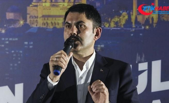 Bakanı Kurum: İstanbul'a hizmet etmek tüm cihana hizmet etmektir