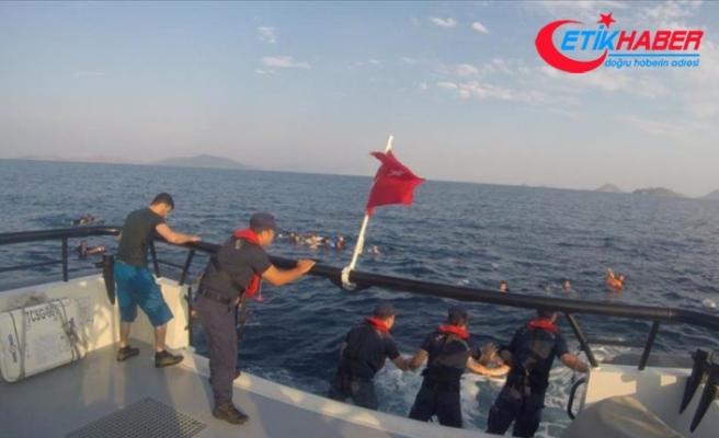 Bodrum'da düzensiz göçmenleri taşıyan tekne battı: 8 ölü