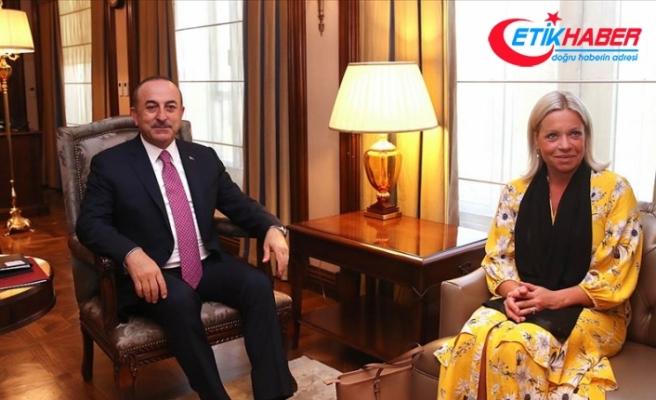 Çavuşoğlu BM Irak Özel Temsilcisi Plasschaert ile görüştü