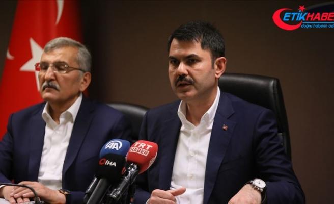 Çevre ve Şehircilik Bakanı Kurum: Kentsel dönüşüm eylem planını bayramdan sonra açıklayacağız