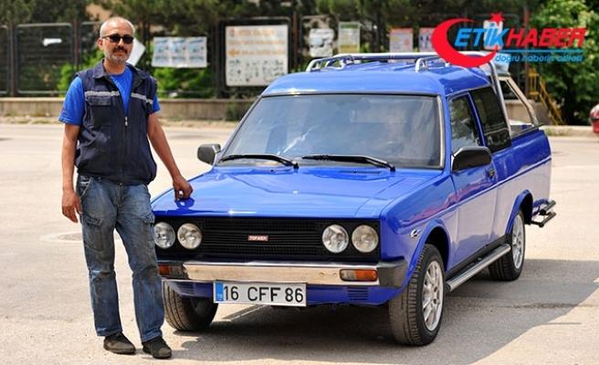 Çıraklık hayalini 86 model otomobille gerçekleştirdi