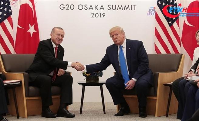 Cumhurbaşkanı Erdoğan: ABD ile dayanışmamızın aynı şekilde devam edeceğine olan inancım tamdır