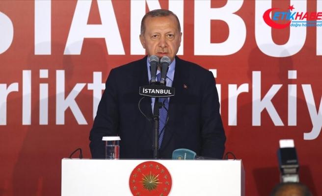 Cumhurbaşkanı Erdoğan: İstanbullu hemşehrilerim demokratik haklarına sahip çıksın