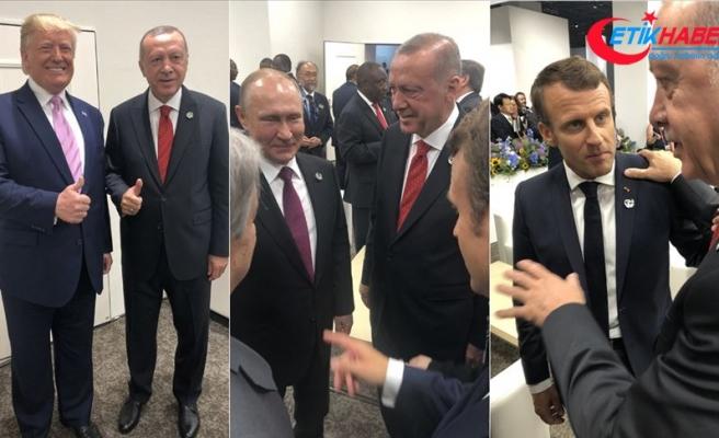 Cumhurbaşkanı Erdoğan Japonya'da temaslarına başladı