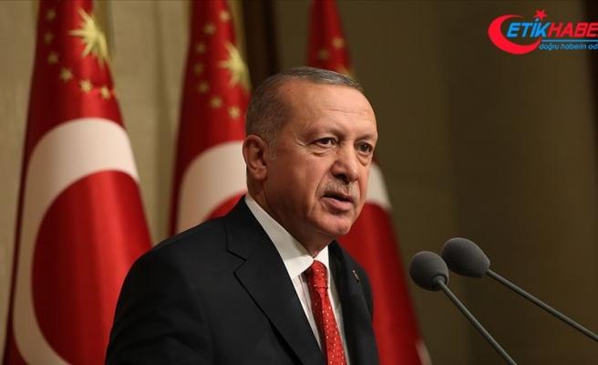 Cumhurbaşkanı Erdoğan: Kara Kuvvetlerimiz ülkemizin huzur ve güvenliğinin koruyucusudur