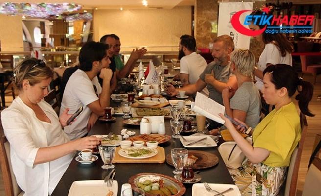 Dünyaca ünlü şefler Gaziantep'te