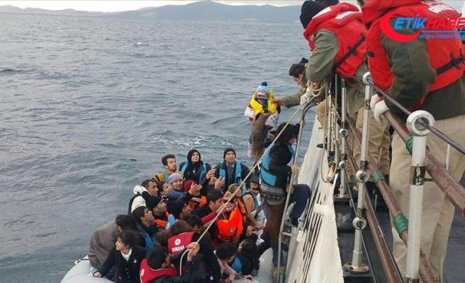 Ege'de bu yıl yakalanan düzensiz göçmen sayısı 16 bini geçti