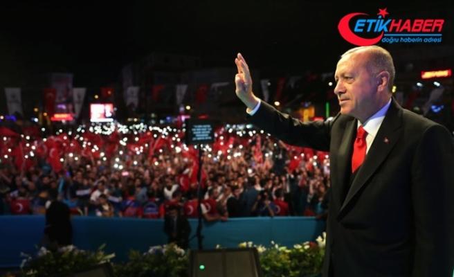 Erdoğan: 82 milyonu Türkiye ortak paydasında buluşturmanın mücadelesini vereceğiz
