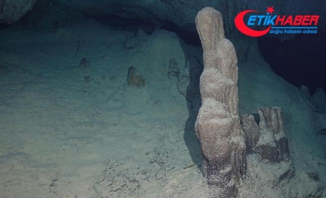 Hatay'da keşfedilen mağaraya, 'Bilge Taş' adı verildi