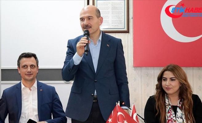 İçişleri Bakanı Soylu: Amacımız bayram sevincimizin acıya dönüşmemesi
