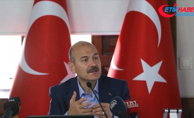 İçişleri Bakanı Soylu: Bugün özel uçakla saltanat sürüyorsun