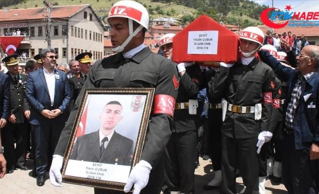 Iğdır'da şehit olan askerler son yolculuğuna uğurlandı