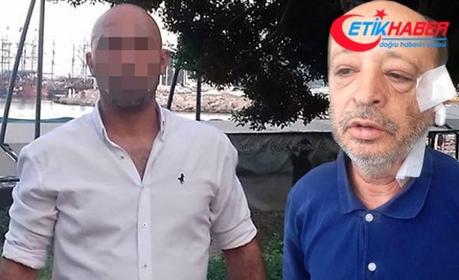 İspiyonla suçladığı arkadaşının kulağını kesen zanlı yakalandı