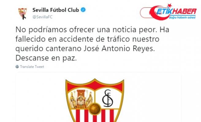Jose Antonio Reyes, trafik kazasında hayatını kaybetti.