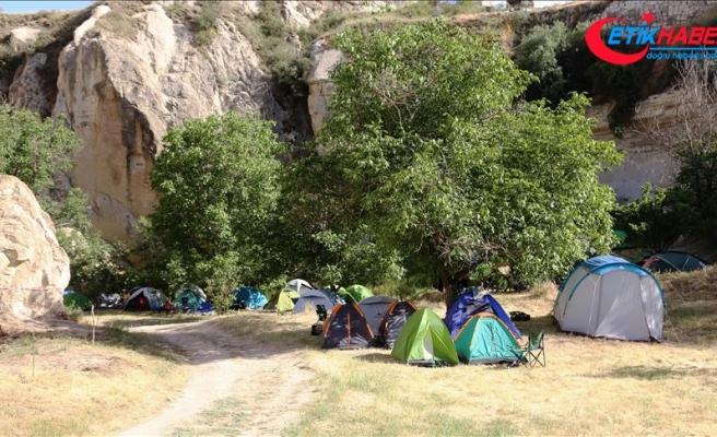 Kapadokya Renkli Çadır Festivali başladı