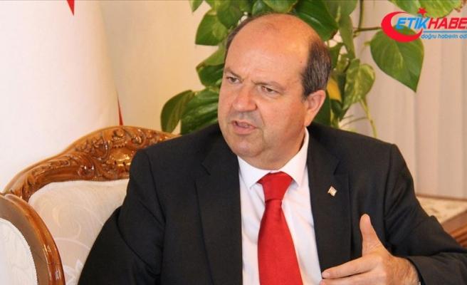 KKTC Başbakanı Tatar'dan 'kararlılık' vurgusu